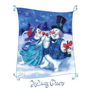 101D Xmas Holiday Snowman Heat Transfer T Shirt Iron On