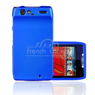 Hard Body Snap on Rubberized Shell Case for Motorola Droid RAZR XT910