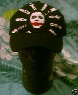 Heath Ledger Batman Joker Baseball Cap Hat New
