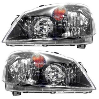 New Pair Set Headlight Headlamp Assembly SAE and DOT Stamped 05 06