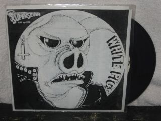 WHITE PIGS Hit Bonanza Ep PUNK Hardcore MISFITS Black Flag CHAOTIC