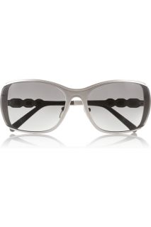 Marni Rectangle frame metal sunglasses