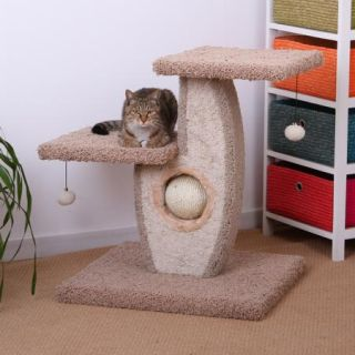 New 29 cat tree post furniture condo house, scratcher bed play toy