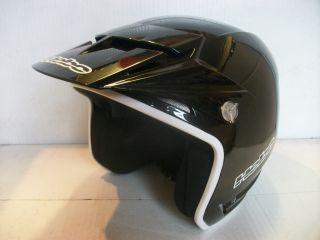 New Hebo Trials Helmet Zone Black Gas Gas Montesa Beta