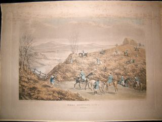 Hare Hunting. R.G. Reeve after W.P. Hodges Set of 2 LG Folio H/Col