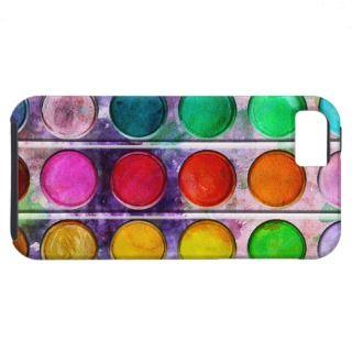 Fine Art Fun Colorful Paint Color Box iPhone 5 Case