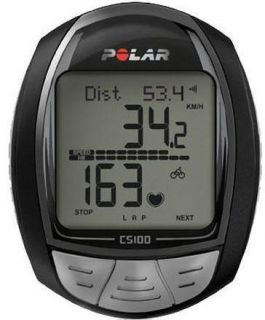 Polar Cycling Speed Heart Rate Monitor Watch CS100