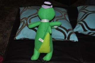 Hanna Barbera Wally Gator Alligator Crocodile Plush Stuffed Animal