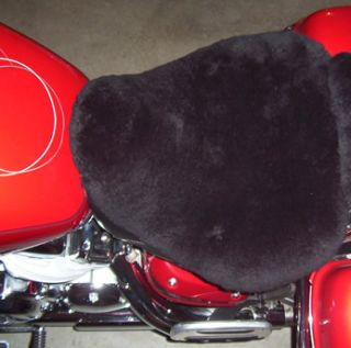 Harley Davidson Sheep Skin Seat Cover Cruisers