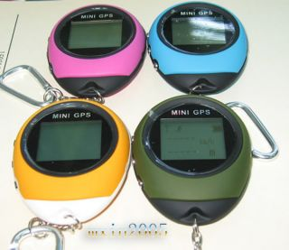 Portable Mini Keychain GPS Navigation Location Finder for Outdoor