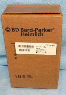 BD Bard Parker 10 Each Heimlich Chest Drain Valves 373460