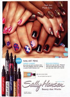 Sally Hansen Nail Art Pens Create Your Own Custom Nail Art You Pick