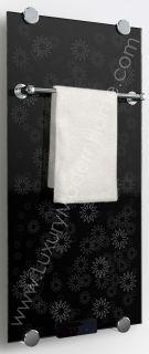 Modern Luxury Infrared Radiator Thermal Glass Bathroom Electric Towel