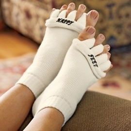 Socks Stretch Tendon Relieve Pain Men Women s M L Happy Feet