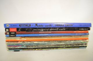 Lot of 20 Ice Middle Earth Role Playing Game Books
