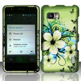 For Sprint LG Mach Rubberized Hard Protector Case Phone Cover Hawaiian