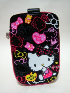description sanrio hello kitty black mobile cell phone digital camera