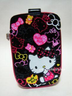 description sanrio hello kitty black mobile cell phone digital camera