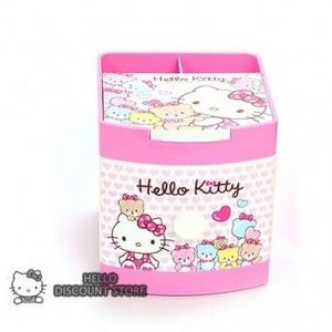 Hello Kitty Multi Jewelry Case Box Desk Organizer Bear