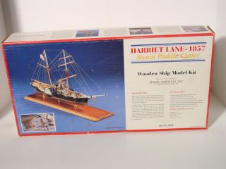 Model Shipways Inc Harriet Lane 1857 Steam Paddle Cutter Model Kit
