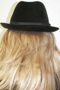 NWT Helen Kaminski Packable Fur Felt Mina Fedora Forest Green Brown