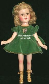 Sonja Henie~MADAME ALEXANDER~Vintage 18 Doll~EXCELLENT Condition! NO