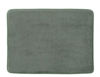 with Memory Foam Bath Mat Rug 17 by 23 inch Green Tea