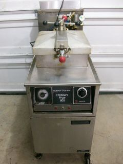 Henny Penny 600 Natural Gas Pressure Fryer Cooker Chicken