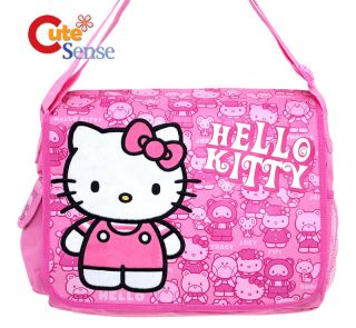Hello Kitty School Messenger  Diaper Bag Friends Pink