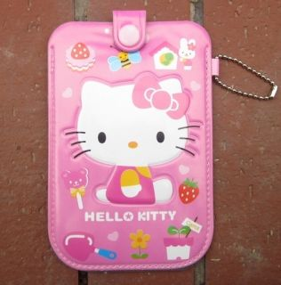Lovely Cartoon Hello Kitty Cell Portable Mobile Phone Pouch Case Cover