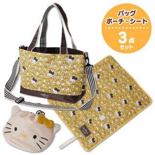 Hello Kitty x Hallmark Mother Tote Bag Pouch Seat Handbag Christmas
