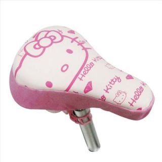 hello kitty soft bike seat saddle cover crystal pink