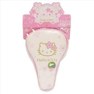 Hello Kitty Soft Bicycle Saddle Cover Bike Cycling Cherry Pink Sanrio