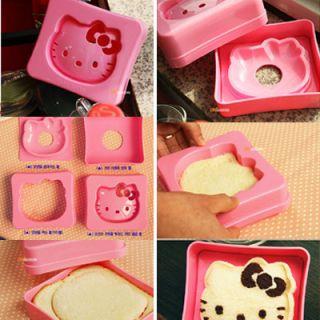 Hello Kitty Bread Sandwich Mold Mould Maker
