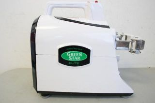 Green Star Elite Jumbo Twin Gear Juice Extractor GSE 5000 Juicer White