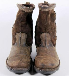 UGG Australia Hartsville 5626 Brown Leather Shearling Mens Boots 12