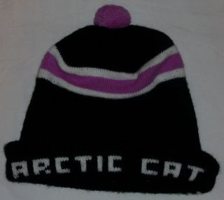 Vintage Arctic Cat Snowmobile Cap Hat