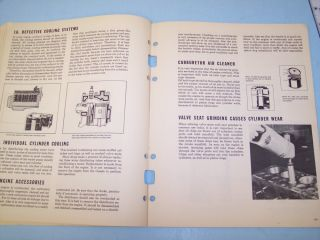 Hastings Piston Ring Guide Book Michigan Nash Zephyr Hudson