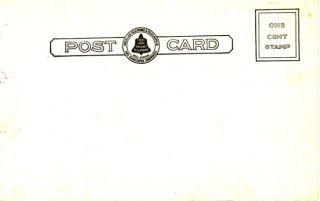Advertising Bell Telephone Logo Doctor Nurse Postcard