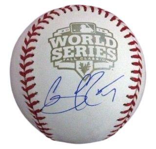 Gregor Blanco Signed Baseball 2012 World Series PSA DNA Certified