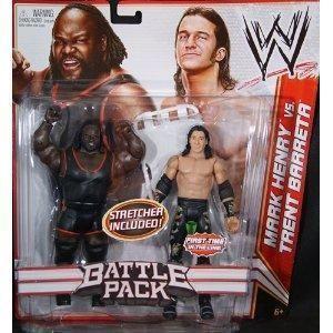 Mark Henry Trent Barreta WWE Mattel Series 17 2 PK Action Figure Toy