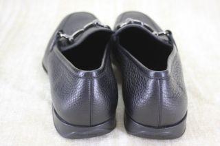 Salvatore Ferragamo Mens Gregory Leather Gancini Bit Loafers Size 11 5