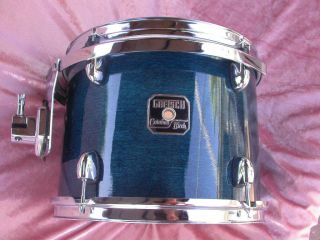 Gretsch 12 Catalina Birch Rack Tom in Caribbean Blue for Drum Set Lot