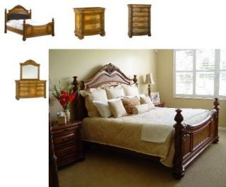 Havertys 5 Piece Grand Cayman Queen Bedroom Set