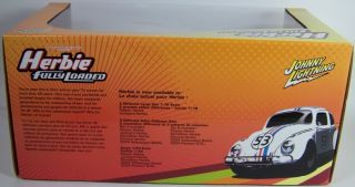 New 1 18 Scale Johnny Lightning JL Herbie Fully Loaded Love Bug 1963