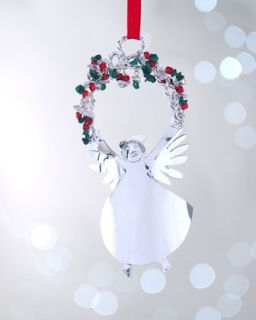 Waterford 2012 Lismore Angel Christmas Ornament