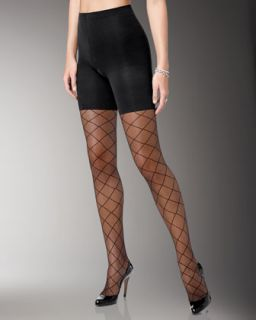 Spanx Sheer Fashion Pantyhose, Swiss Dot   Neiman Marcus