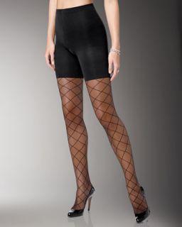 Spanx Sheer Fashion Pantyhose, Swiss Dot   Neiman Marcus