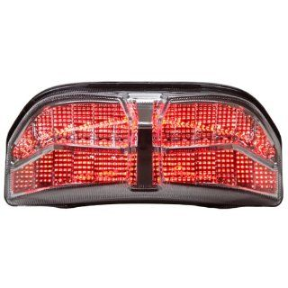 2006 2013 Yamaha FZ1 Integrated Sequential LED Tail Lights Clear Lens