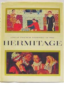 GREAT FRENCH PAINTINGS IN THE HERMITAGE Chas. Sterling 77 Color Plates